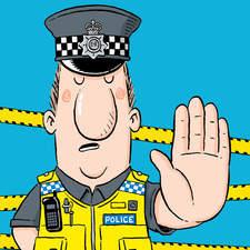 Policeman-Greetings card