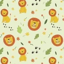 Lion Repeat Pattern