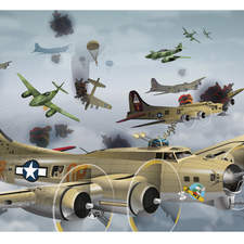 Sticker book with Usborne, Pilots and Aviators.