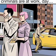 The City of Crime comic, for Richmond Keep it Real