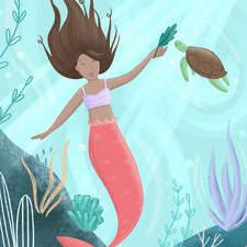 Personal work - mermaid illustration
