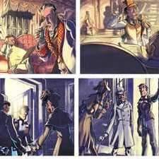 Comic Page Sherlock Holmes 4