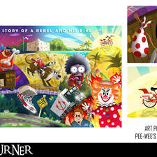 Alternative Fan Art Poster for the film Pee Wee's Big Adventure