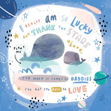 Daddy Whale card for Lucy and Lolly