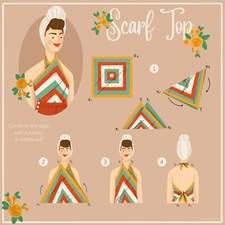 Scarf Top tutorial