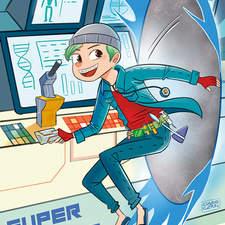 Super Hero Theron Cmyk