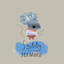 Salty the Sea Mouse by Lucia Wilkinson