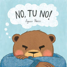 """No, tu no!"" front cover – Picturebook/Thesis project"