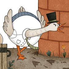 """""""La Focaccia Fuggita"""" – Illustrated book project"""
