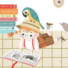 """""""Tutti gli animali"""" by Gianni Rodari – Illustration for a contest"""