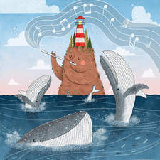 """""""Sings from the North Seas"""" – Illustration for a contest"""
