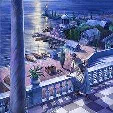 Ancient roman harbour