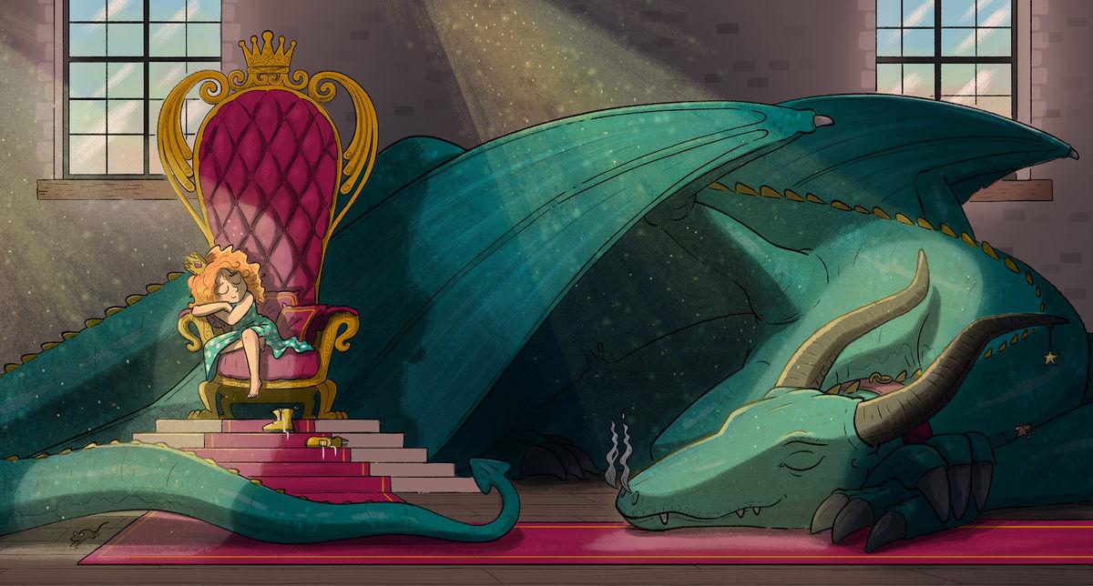 Princess Dragon Web