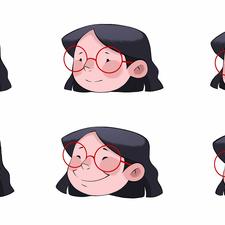 Little Ladybug Girl - Expressions