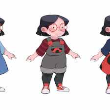 Little Ladybug Girl - Character Designs