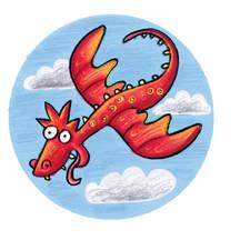 Spot art works of dragons