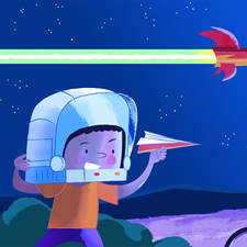 Paper Spaceship Davidhurtado Twitter