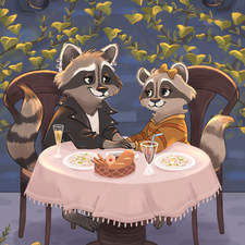 Racoon date