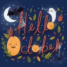 An illustration for October.