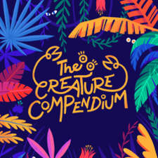 The Creature Compendium - title page typography & design