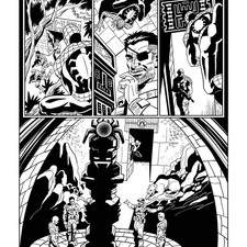 Page from a Spiderman comic strip published by Eagjemoss