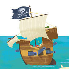 """Pirate Hank´s Plank"", written by Penny Dolan. Franklin Watts. A pirates´ exciting story."