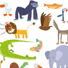 """Bestiary"", a compilaton of animals drawn for Ed, Bromera."