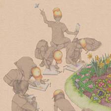 Cover for the children magazine Chiquiocio. (Spring 2015)