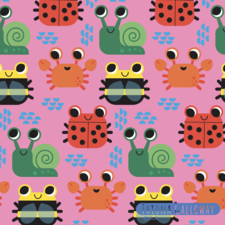 fun insect pattern