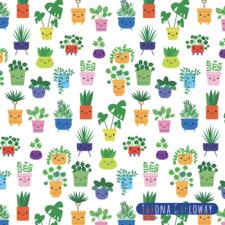 plant pots pattern