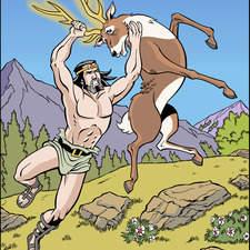Third labour of Hercules: Ceryneian hind