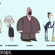 Office Life characters