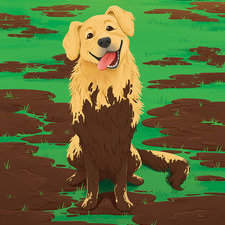 "Cover image for ""Muddy Mutt"""