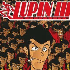 The cover for the first issue of the new adventures of Lupin III, the character created by the Japanese master Monkey Punch.