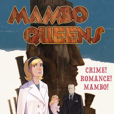 Cover for the graphic novel Mambo Queens.