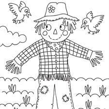 Farm Colouring Page for Wilko