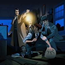 Sherlock Holmes illustration