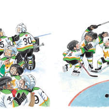 Let's Play a Game of Hockey by Kari-Lynn Winters published by Scholastic