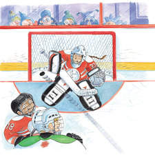 Let's Play a Hockey Game! by Kari-Lynn Winters published by Scholastic