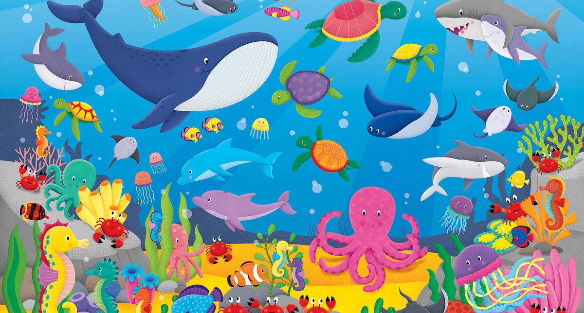 Under The Sea Counting Creatures