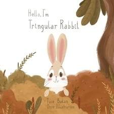 A cover illustration for a book i recently worked on about a rabbit