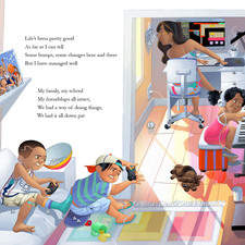 """Illustration for the book """"Calib and Quaran-teen"""" published in USA by Natori Blue."""