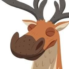 Reindeer character sheet