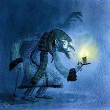 Charles Dickens stories and characters are a great inspiration. Mr. Ebenezer Scrooge is of course one of them.
