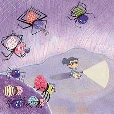 Spiders and children use to be separated.. here it was a story showing spiders are, just spiders  and eventually can be cute <3
