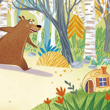 Illustration made for picture book.