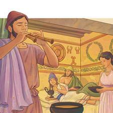 Etruscan civilization - Educational illustration