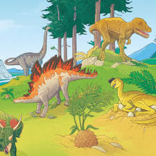 Dinosaurs - Educational Illustration