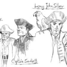 Treasure Island - characters
