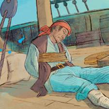Treasure Island - Mr. Hands